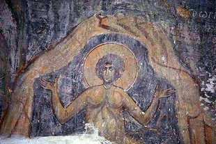 A fresco in Agios Georgios Church, Kalamas