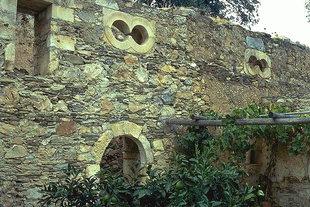 Ασυνήθης παράθυρα σχήματος οκτώ στην Μονή του Αγίου Ιωάννη του Πρόδρομου