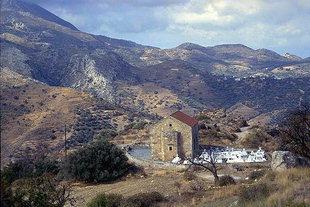 The church of Ninety-Nine Martyrs in Polirinia