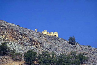 The Turkish castle in Agia Roumeli