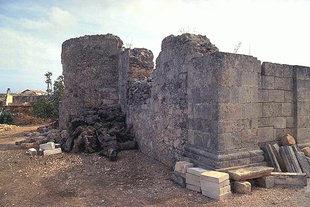 Die byzantinische Agii-Pandes Kirche in Sternes