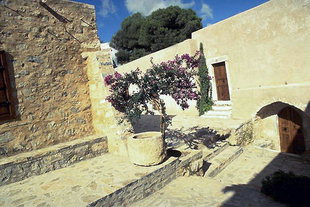 The 16C monastery of Kremasta near Neapolis
