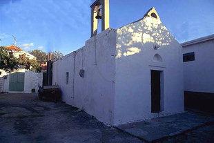The Byzantine church of Agii Apostoli in Fourni