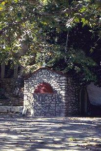 Die Agia Paraskevi-Kapelle in Christos