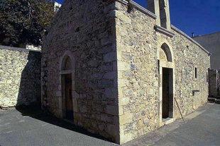 L'église de la Panagia Mesohoritisa à Males
