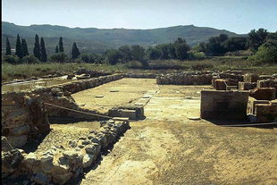 The Main Hall of the West Wing, Zakros