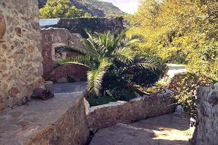A renovated mill near the church of Christos, Zakros