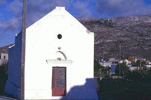 L'église Byzantine de la Panagia à Armeni, Handras