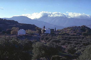 Agios Ioannis Church in Etia