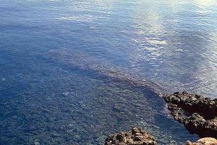 Il molo romano sommerso di Limin Hersonisou