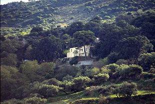The Kremasta Monastery overlooking Neapolis