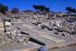 The ceremonial pathway, Zakros