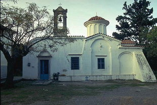 The Byzantine church of the Panagia in Houmeriako