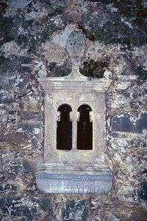 Un particolare della chiesa di Panagìa a Houmeriako