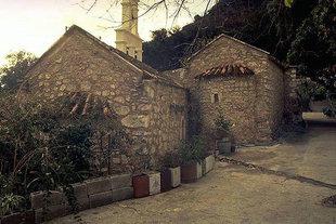 The church of Agios Nikolaos Monastery in Zarros