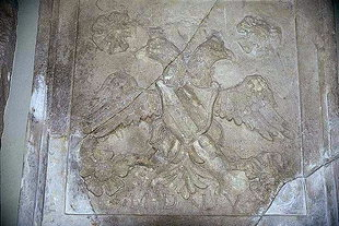 Venetian fountain from the city of Iraklion (detail)