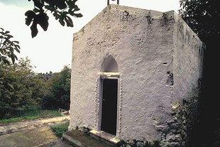L'église Byzantine d'Agia Irini à Kournas