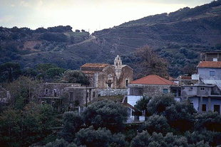 The Byzantine church of Agios Georgios, Kournas