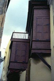 Un originale balcone, Rethimnon