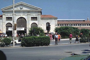 The Public Market (Agora) of Chania
