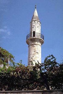 Il Minareto di Aga nella città vecchia di Chanià