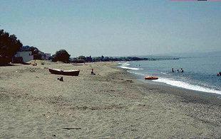 Agia Marina et la plage de Platanias