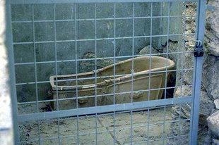 Minoische Badewanne von Knossos