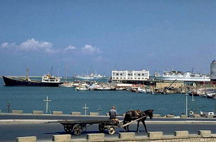 Iraklion harbour