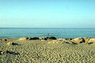 A beach near Paleohora