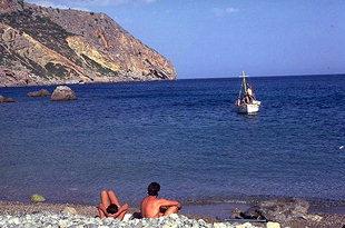 Der antike Hafen von Lissos