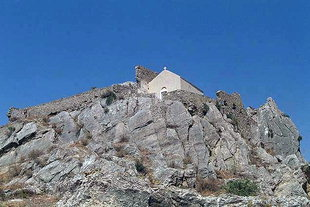 The Venetian castle in Harakas