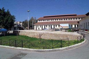 Venetian remains near the Chania market