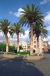 The main square of Sitia