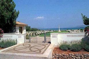 The Allied World War II Cemetery in Souda Bay