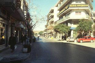 Odòs Dimokratìas, Chanià