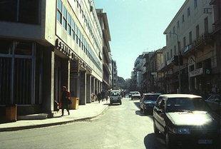 La Banca di Grecia, l'Ufficio Postale e le PT in Odòs Tzanakaki, Chanià