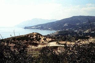 The area of Keratokambos below Kato Viannos