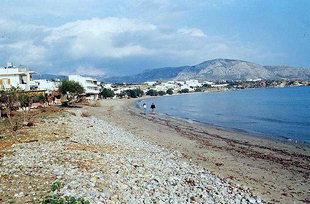 Beach in Makrigialos