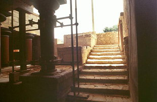 The Grand Staircase of the Royal Apartments, Knossos