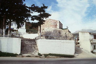 Die Profitis Ilias-Kirche in Agia Varvara