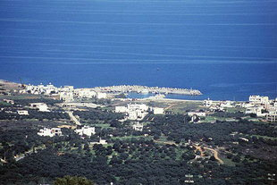Der Hafen von Milatos