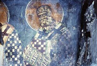 A fresco in Agia Pelagia Church  in Ano Viannos