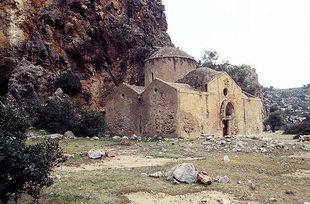 L'église d'Agios Antonios à Agiofarago
