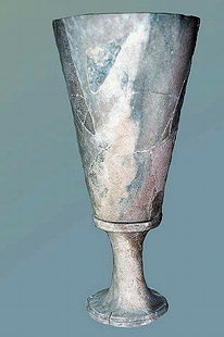 Postpalatial stone chalice from Makrigialos