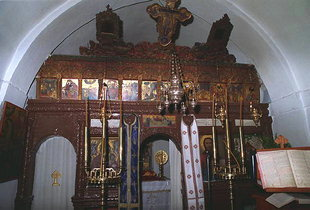 Der Altarschrein der Agios Ioannis-Kirche, Moni Diskouri