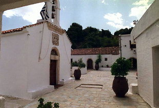 Agios Ioannis Church, Moni Diskouri