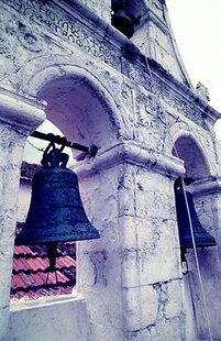 Οι καμπάνες της εκκλησίας, στην Μονή Προφήτη Ηλία, στα Ρούστικα