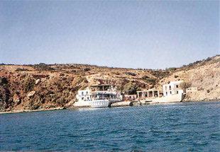 Il porto di Gavdos