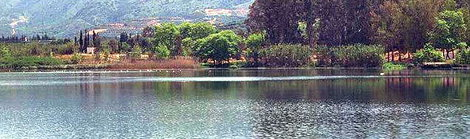 The lake of Agia